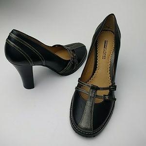 New Donald J. Pliner Black Sportique Heels